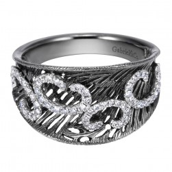 Gabriel Fashion 14 Karat Twilight Ladies' Ring LR6273W45JJ