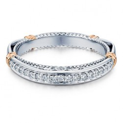 Verragio Parisian-128W 18 Karat Wedding Ring / Band