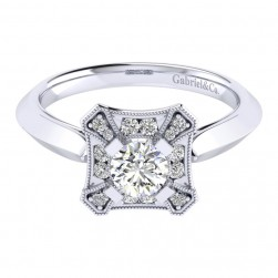 Gabriel 14 Karat Perfect Match Engagement Ring ER001A2AEW44JJ