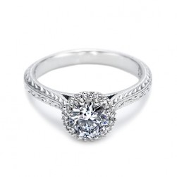 Tacori 18 Karat Solitaire Engagement Ring 2502RDE6