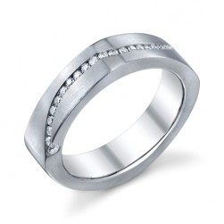 246695 Christian Bauer 18 Karat Diamond  Wedding Ring / Band