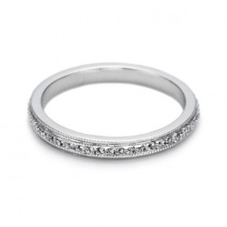 Tacori 2538 Platinum Wedding Band