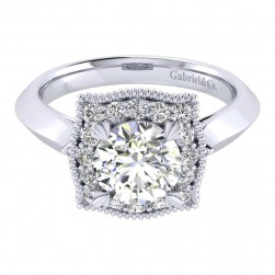 Gabriel 14 Karat Perfect Match Engagement Ring ER001C6AAW44JJ