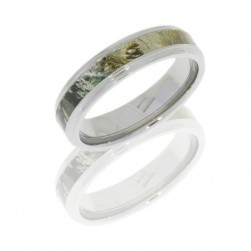 Lashbrook CAMO6FGE13/RTAP POLISH Titanium Wedding Ring or Band