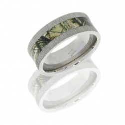 Lashbrook CAMO9F14-RTAP POLISH Camo Wedding Ring or Band