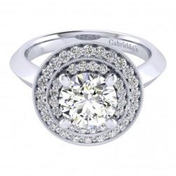 Gabriel 14 Karat Perfect Match Engagement Ring ER001C8AHW44JJ