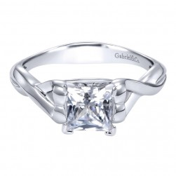 Gabriel 14 Karat Contemporary Engagement Ring ER11888S4W4JJJ