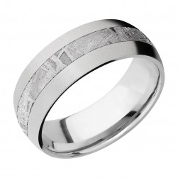 Lashbrook CC8D13/METEORITE Cobalt Chrome Wedding Ring or Band