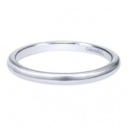 Gabriel 14 Karat Contemporary Wedding Band WB10777W4JJJ