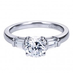 Gabriel 14 Karat Contemporary Engagement Ring ER7789W43JJ