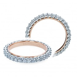Verragio Classic-920W19-TT 14 Karat Diamond Wedding Ring / Band