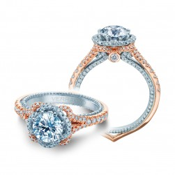 Verragio Couture-0444-2RW 18 Karat Engagement Ring