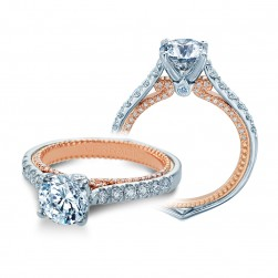 Verragio Couture-0445-2WR 14 Karat Engagement Ring