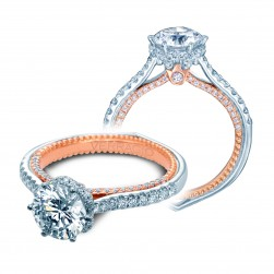 Verragio Couture-0458RD-2WR 14 Karat Engagement Ring