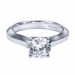 Gabriel Platinum Contemporary Engagement Ring ER6612PTJJJ