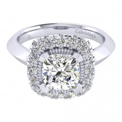 Gabriel 14 Karat Perfect Match Engagement Ring ER001C8AJW44JJ