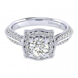 Gabriel 14 Karat Perfect Match Engagement Ring ER002B3AAW44JJ