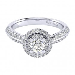 Gabriel 14 Karat Perfect Match Engagement Ring ER002A2AIW44JJ