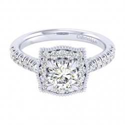 Gabriel 14 Karat Perfect Match Engagement Ring ER039B3AAW44JJ