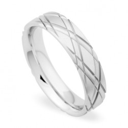 274241 Christian Bauer 18 Karat Wedding Ring / Band