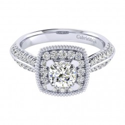 Gabriel 14 Karat Perfect Match Engagement Ring ER002B4AKW44JJ