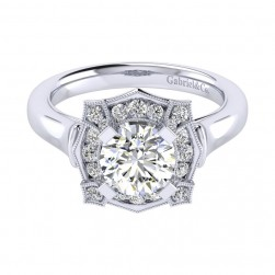 Gabriel 14 Karat Perfect Match Engagement Ring ER009C6ADW44JJ