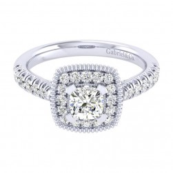 Gabriel 14 Karat Perfect Match Engagement Ring ER039B3AKW44JJ