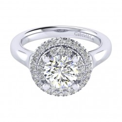Gabriel 14 Karat Perfect Match Engagement Ring ER009C6AIW44JJ