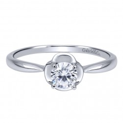 Gabriel 14 Karat Contemporary Engagement Ring ER911776R1W4JJJ