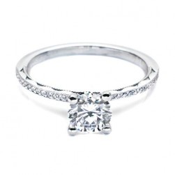 4315RD6 Tacori Crescent 18 Karat Engagement Ring
