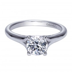 Gabriel Platinum Contemporary Engagement Ring ER8139PTJJJ