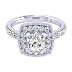 Gabriel 14 Karat Perfect Match Engagement Ring ER039C6AKW44JJ