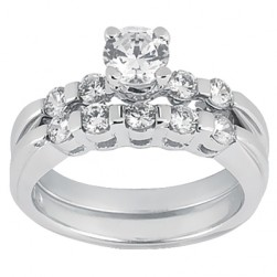 Taryn Collection 18 Karat Diamond Engagement Ring TQD A-365