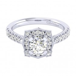 Gabriel 14 Karat Perfect Match Engagement Ring ER039B3ADW44JJ