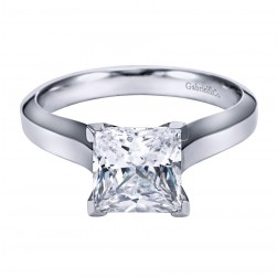 Gabriel Platinum Contemporary Engagement Ring ER6618PTJJJ