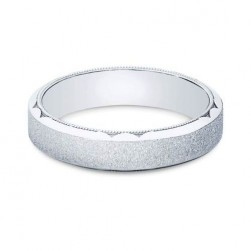 Tacori 655PB Platinum Crescent Wedding Band