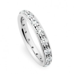 246878 Christian Bauer 14 Karat Diamond  Wedding Ring / Band