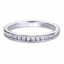 Gabriel 14 Karat Contemporary Wedding Band WB9526W44JJ
