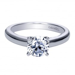 Gabriel 14 Karat Contemporary Engagement Ring ER8295W4JJJ