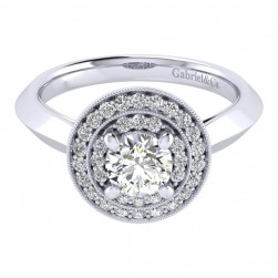 Gabriel 14 Karat Perfect Match Engagement Ring ER001B3AHW44JJ