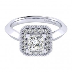 Gabriel 14 Karat Perfect Match Engagement Ring ER001B4ALW44JJ