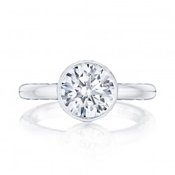 300-25RD8 Platinum Tacori Starlit Engagement Ring