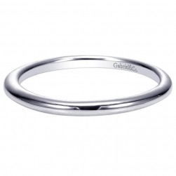 Gabriel 14 Karat Contemporary Wedding Band WB9088W4JJJ