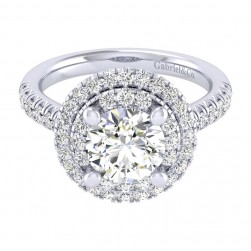 Gabriel 14 Karat Perfect Match Engagement Ring ER039C8AIW44JJ