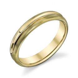 272851 Christian Bauer 18 Karat Yellow Wedding Ring / Band