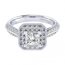 Gabriel 14 Karat Perfect Match Engagement Ring ER002B4ALW44JJ