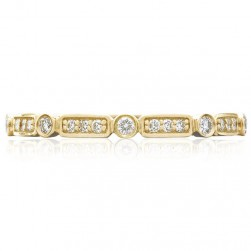 Tacori 202-2Y 18 Karat Sculpted Crescent Wedding Ring