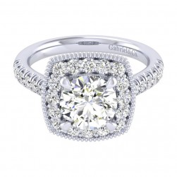 Gabriel 14 Karat Perfect Match Engagement Ring ER039C8ABW44JJ
