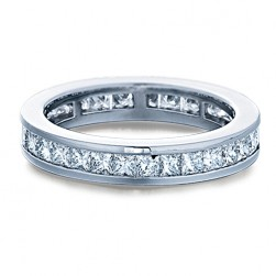 Verragio 18 Karat Eterna Wedding Band Eterna-0279PW
