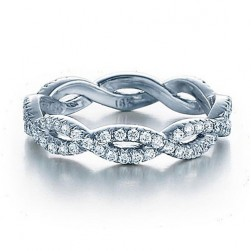 Verragio Eterna-4017 Platinum Wedding Ring / Band